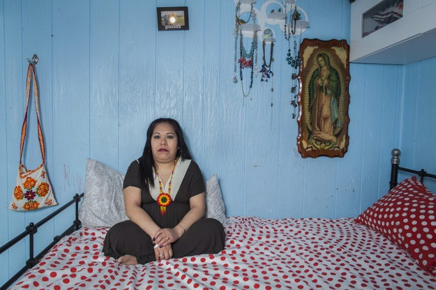 """Before becoming a photographer, Cinthya worked as a community organizer with Mexican migrants in New York, so she knew all the women she photographed for the series. """"I only had one requirement for the series: they had to be Mexican grandmothers,"""" she explained."""