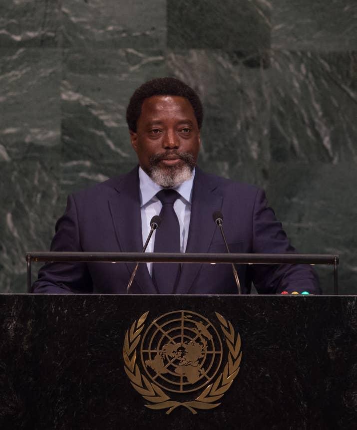 Le président Joseph Kabila, de la République démocratique du Congo, s'est adressé à l'Assemblée générale des Nations Unies le mois dernier.