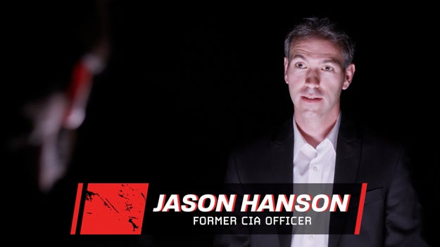 Jason Hanson is a former CIA officer who now teaches escape and evasion. He has years of experience and was very confident he would win my strange challenge.