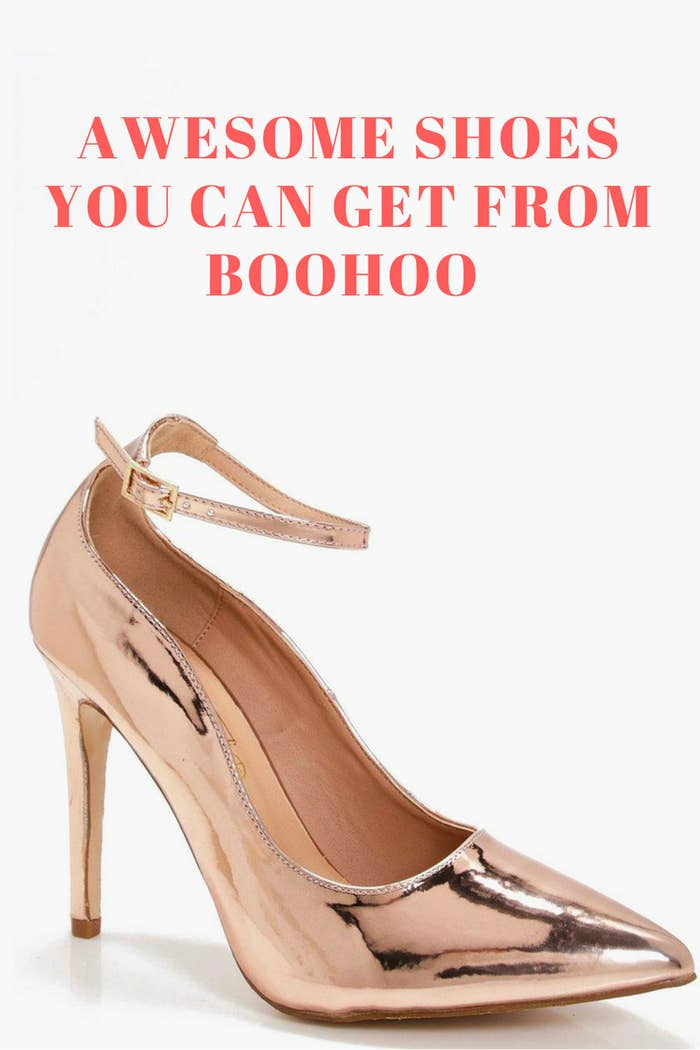 ada743930f9 19 Pairs Of Shoes From Boohoo You'll Want On Your Feet Right Now