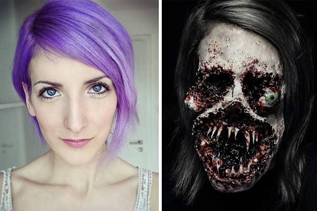 Creepy Scary Halloween Makeup.33 Totally Creepy Makeup Looks To Try This Halloween