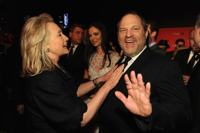 In 2012, he held a $38,500-per-person fundraiser for Barack Obama (co-hosted with Aaron Sorkin and Anne Hathaway), and in 2016, he hosted multiple celebrities at his Manhattan home to raise more than $1.5 million for Hillary Clinton's campaign.According to the Center for Responsive Politics, Weinstein bundled — a term for helping officially fundraise donations from others — $1,422,683 for Clinton's campaign in 2016 and at least $500,000 for Obama's 2012 campaign.