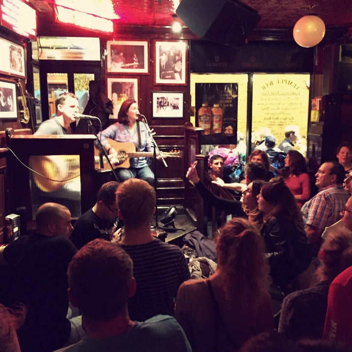 The pub scene in Ireland is about more than food and drinks, with many venues hosting live music, too. Your trip won't be complete without a good ol' trad session.