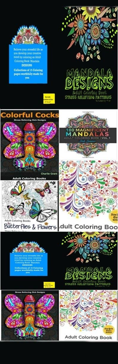 AmazingAdult Coloring Books Stress Relieving Patterns MandalaDESIGNSCollectors Items