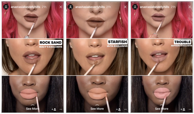 Anastasia Beverly Hills has a HUGE Instagram following. So the cult-fave makeup brand recently took to the social media platform to unveil their new holiday liquid lipsticks.