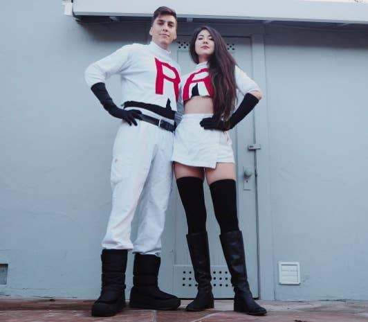 Míralos y atrévete a decir que no son la pareja más badass que existe.