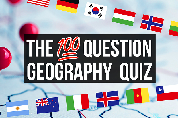 Only A Geography Genius Will Score 80/100 In This Monster Quiz