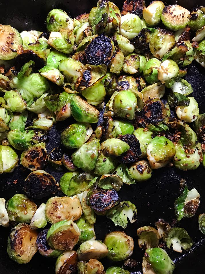 Here's The Trick To Making Brussels Sprouts Taste Amazing