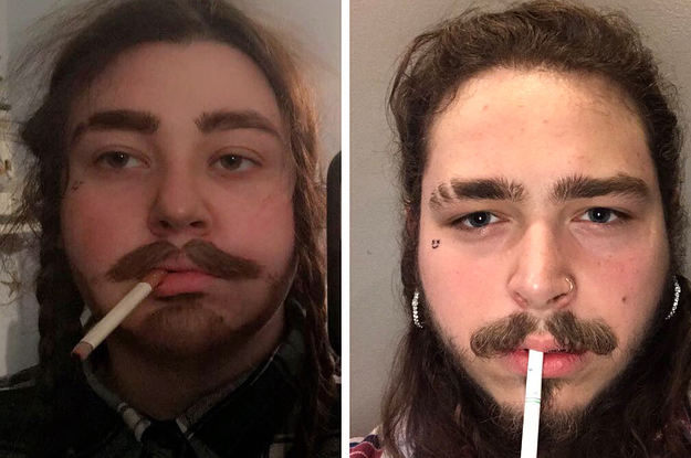 People Are Freaking Out Over This Teen's Post Malone Halloween Costume