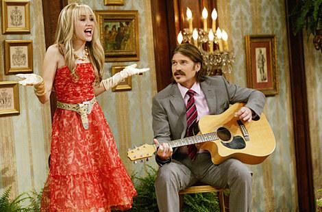 On getting cast as Hannah Montana: