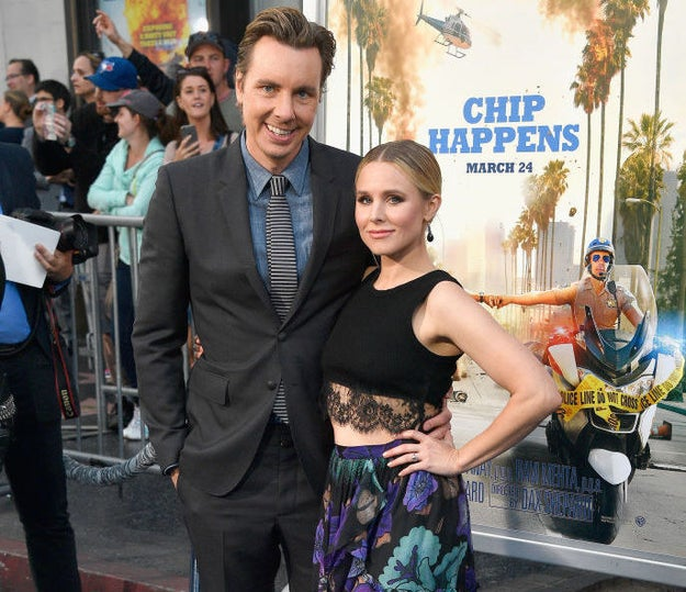 It's pretty well documented that Kristen Bell and Dax Shepard are the cutest and basically just the best couple.