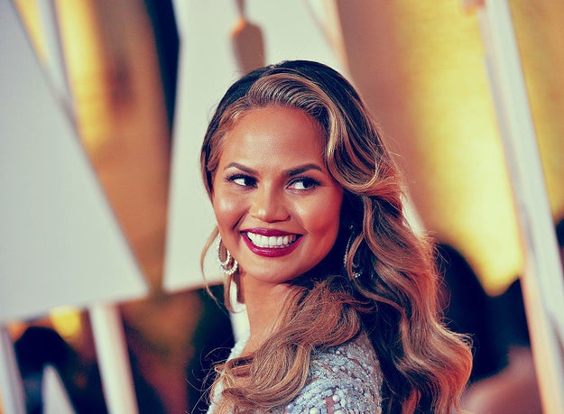 And this is Chrissy Teigen. You know her.