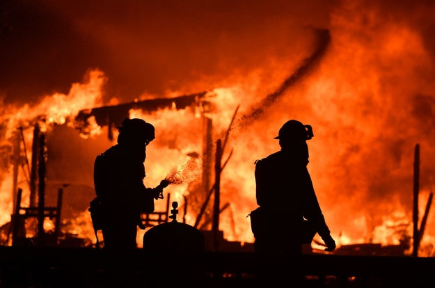 """""""We've been wondering, 'Where in the heck are they?'"""" Windsor Fire Chief Jack Piccinini told the Press Democrat, early Monday morning. """"I've asked, 'Are units coming?' and was told no, they're going to the Atlas fire (in Napa County). That's painful news to us. We're still spread so thin."""""""