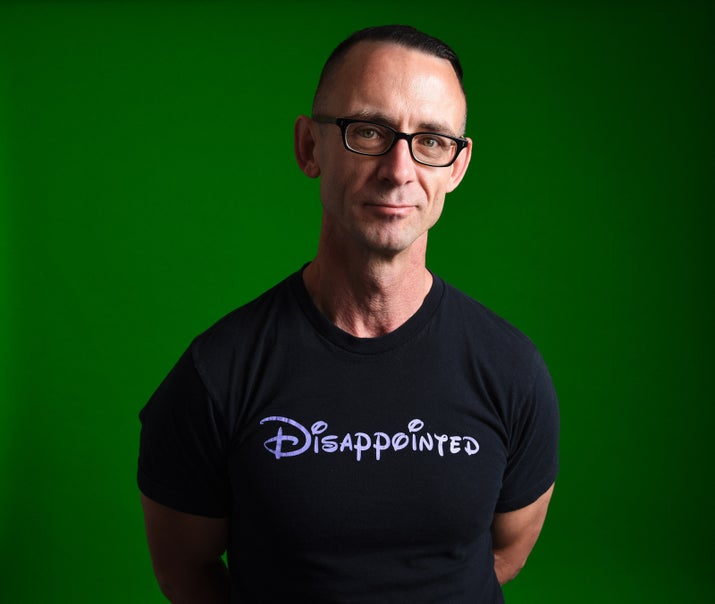 Chuck Palahniuk Has A New Novel Coming Out by Jarry Lee for BuzzFeed