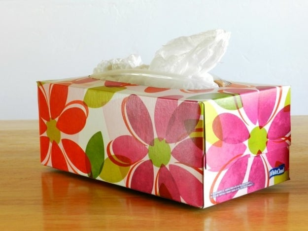 Did you finally limit your plastic bag collection by keeping only what could be stuffed into an old Kleenex box?