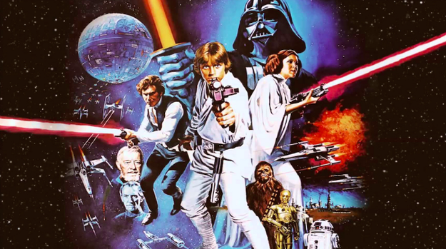 First up, Star Wars: Episode IV — A New Hope: