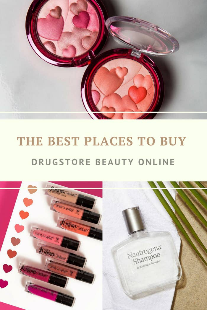 18 Of The Best Places To Buy Drugstore Beauty Products Online