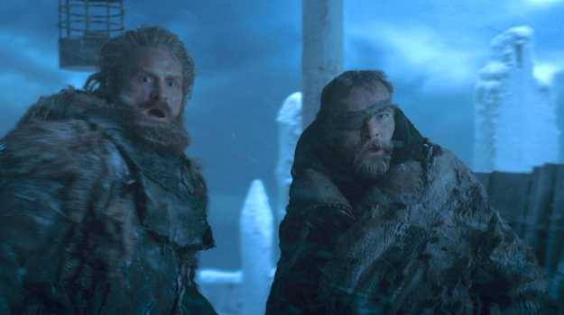 When the Wall came down with Tormund on top of it in the Game of Thrones Season 7 finale, a lot of fans were worried it was the last we'd see of the wildling.