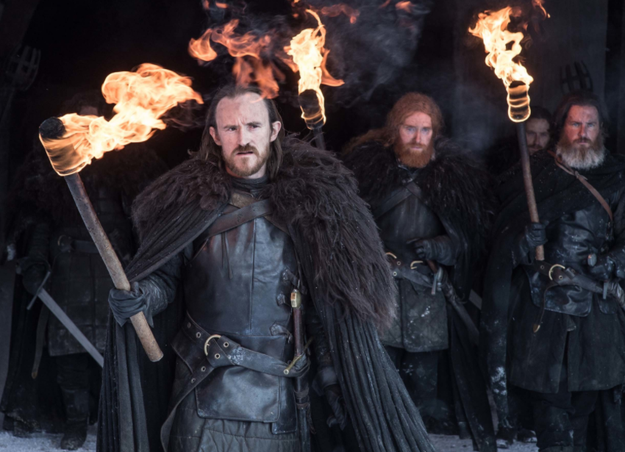 He was seen next to Ben Crompton, the actor who plays Dolorous Edd – who only made a very brief appearance in Season 7, in the first episode.