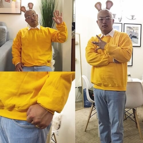 1. Honour the Arthur fist meme  sc 1 st  BuzzFeed & DIY Costume Ideas Just In Time For #RUScared