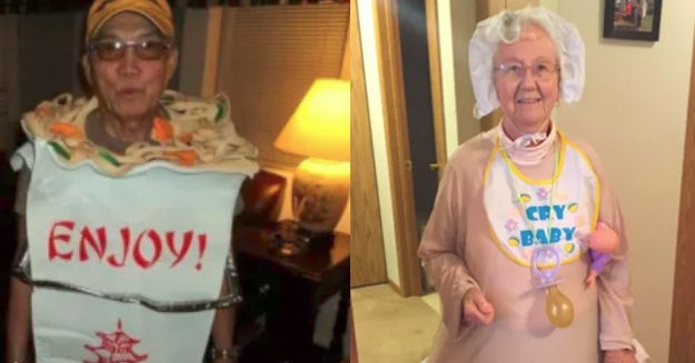 22 Grandparents Who Are Proof That You're Never Too Old To Dress Up For Halloween