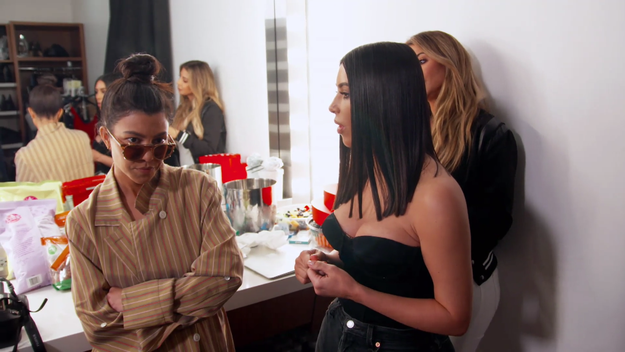 But things got complicated before Kourtney even left, when she revealed to Khloé and Kim that Scott wanted her and the kids to go on a trip with him for his birthday.