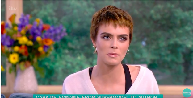 Cara also revealed what the turning point was for her in dealing with her illness.