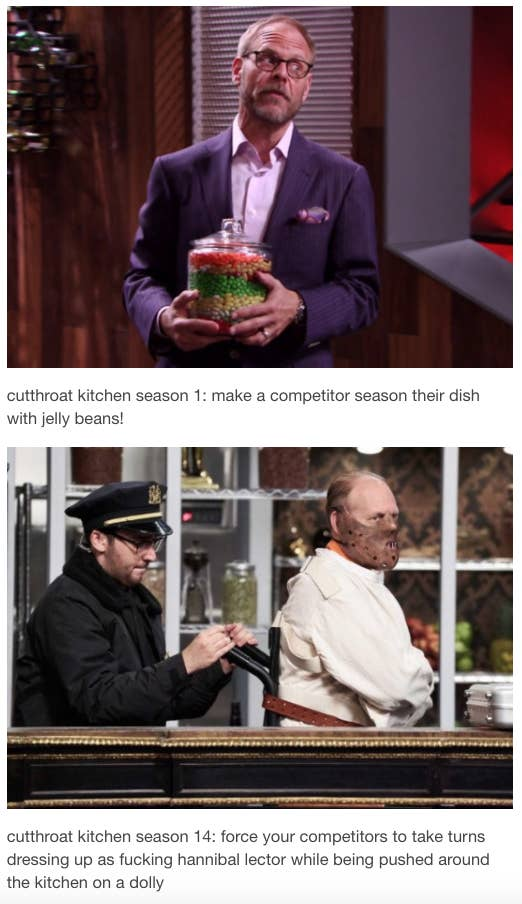 33 Tumblr Posts That Prove Cutthroat Kitchen Is The Best