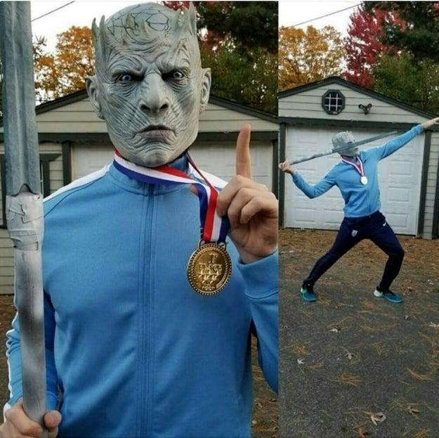 Gold medal winner Night King:
