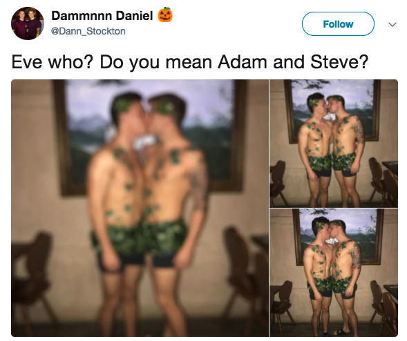 Not Adam and Eve, ADAM AND STEVE: