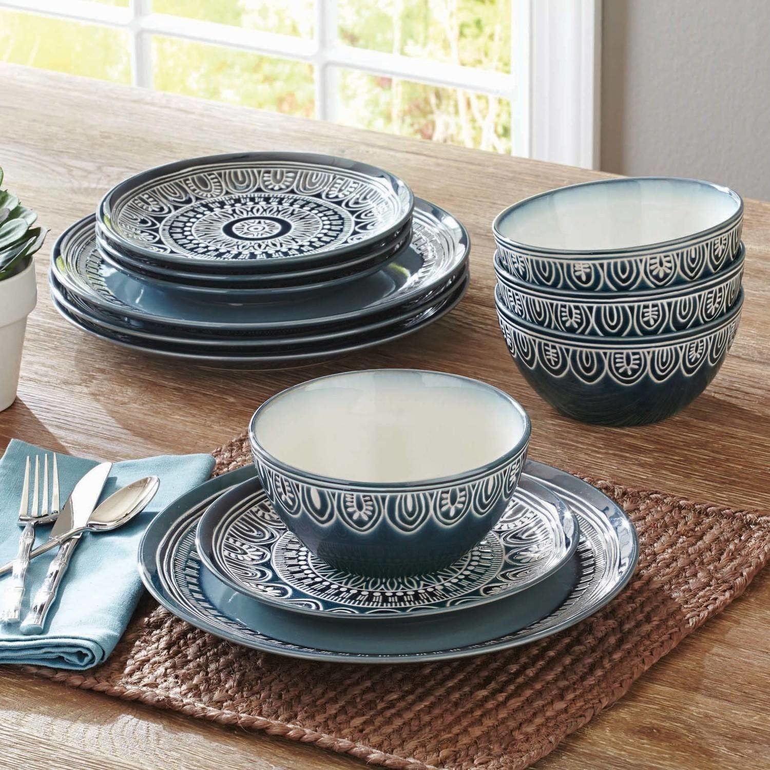 A hand-painted dinnerware set to help further your dream of living like Ina Garten. & 27 Expensive-Looking Things You\u0027ll Never Believe Are From Walmart