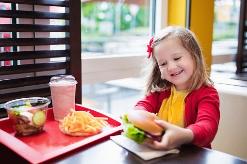 """""""I buy kids meals almost everywhere I go. They're usually under $5 and include a drink, sides, and some kind of healthy snack. Annnnnnnd most importantly, it's usually the correct proportions for an adult. Win-win.""""—Ashly P."""