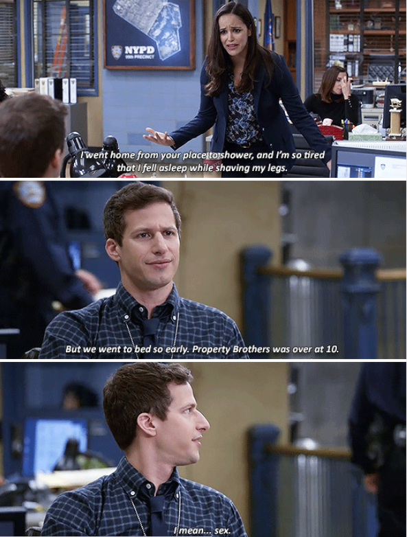 When Jake accidentally revealed how they spend their evenings together.