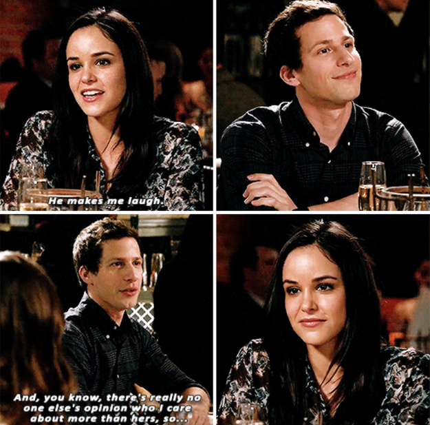 When they revealed how they knew they were perfect for each other.