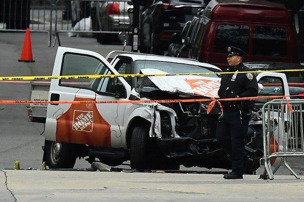 On Tuesday afternoon, a suspect identified as Sayfullo Habibullaevic Saipov plowed into bicyclists and pedestrians in Lower Manhattan with a pickup truck. The horrific act of terror left eight people dead and over a dozen injured. A handwritten note was found in the car and according to the NYPD, it's been linked to ISIS.