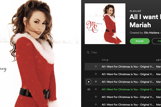 Who Wrote All I Want For Christmas Is You.It S Time To Listen To All I Want For Christmas Is You On