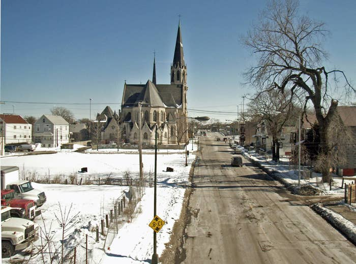St. Martin's Church in Englewood, Chicago.