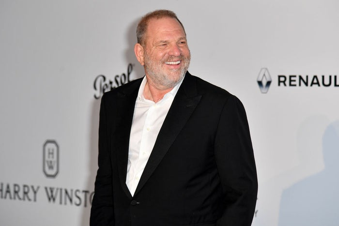 Harvey Weinstein arrives for the amfAR's 24th Cinema Against AIDS Gala on May 25.