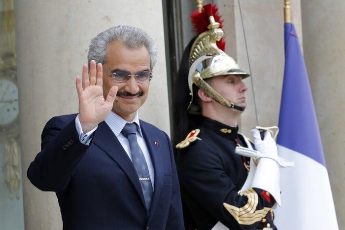 Saudi Arabian Prince Alwaleed bin Talal was among the princes detained last weekend.