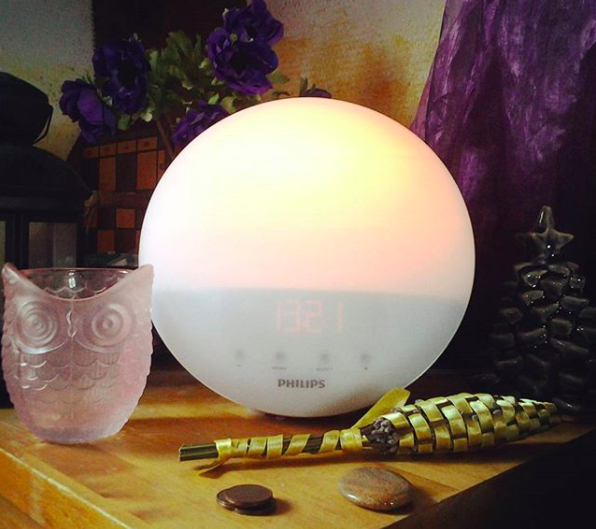 Or try out an alarm clock that also simulates the sunrise.