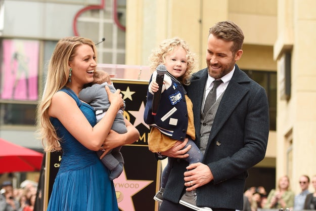 ...AKA Blake Lively and Ryan Reynolds' two-year-old daughter: