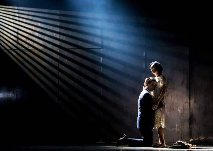 Clive Owen and Jin Ha in M. Butterfly