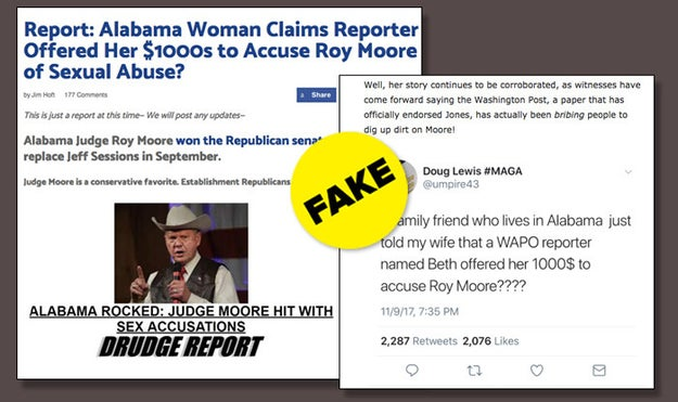 Despite the evidence that @umpire43 was spreading misinformation, pro-Trump websites treated it as a legitimate claim.