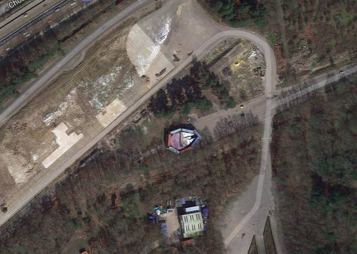 Disney Tried To Hide The Millennium Falcon And Google Maps ... on google maps street car hits deer, google maps car in pa, google maps car salary, google maps strange car,