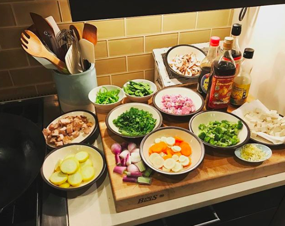 Have all your ingredients prepped, measured, and ready to go before you start cooking.