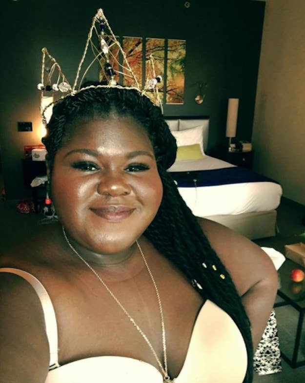 Gabby Sidibe Just Gave The Classiest Clapback After Someone