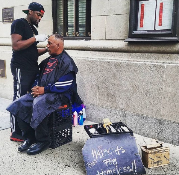 "Earlier this April, he was cutting hair when a man whom he'd never met named Sean Johnson saw him and asked what his plan was for the winter. ""I didn't have an answer,"" Jones told BuzzFeed. ""My plan was to go work in a random barbershop and put HC4H (Haircuts For Homeless) on hold."""
