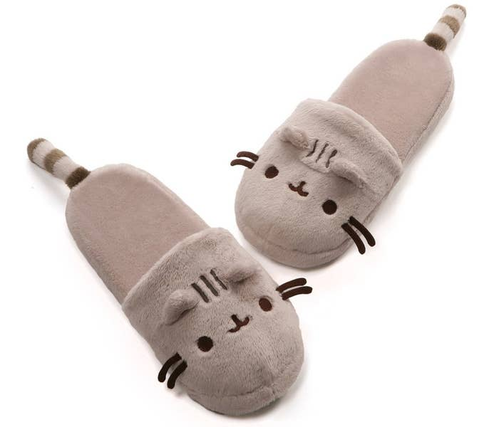 "Get them from Amazon for $21.29. One size fits most.Promising review: ""I love these. These are surprisingly better quality than my existing slippers. They're very cozy and have good grip on the soles. Note: the item description is not accurate when it comes to size. This is NOT a kids shoe ages 1 and up. I wear a men's size 8 and this fits."" —Gordio"