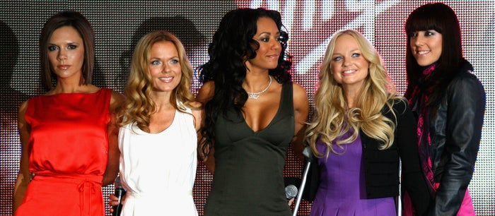 Reuniting for the London 2012 Olympic closing ceremony and their The Return of the Spice Girls Tour in late 2007 and early 2008.