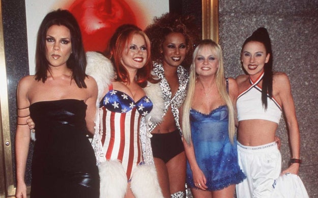 So, I think we can all agree that the Spice Girls aren't just one of the most iconic musical groups of the '90s, but, of ALL TIME.